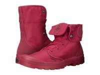 Palladium Mono Chrome Baggy Ii Maroon Boots Red