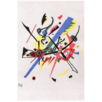 Art Deco Danish Bauhaus Rug By Wassily Kandinsky Small Worlds At 1Stdibs