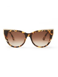 Thierry Lasry Butterscotchy Cat Eye Frame Sunglasses