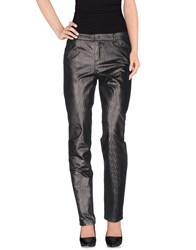 Atos Lombardini Trousers Casual Trousers Women Steel Grey