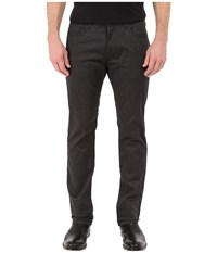 Kenneth Cole Sportswear Slim Five Pocket Pants Charcoal Combo Men's Casual Pants Gray