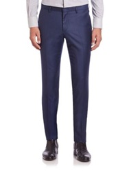 J. Lindeberg Paulie Wool Trousers Navy