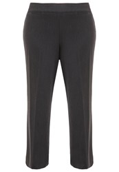 Evans Trousers Charcoal Grey