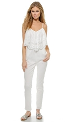 6 Shore Road By Pooja Picnic Jumpsuit Moonlight White