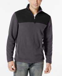 Club Room Big And Tall Quarter Zip Fleece Pullover Only At Macy's