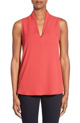 Petite Women's Pleione Layered V Neck Sleeveless Blouse
