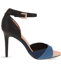 Ted Baker Camiyl Open Toe Heeled Sandals Blue