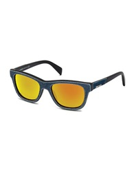 Diesel Denim Sunglasses Blue Orange
