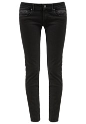 Replay Rose Slim Fit Jeans Black Denim