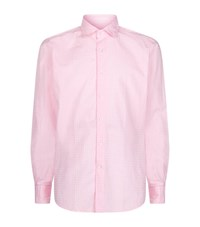 Slowear Tonal Check Shirt Male Pink
