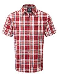 Tog 24 Avon Ii Check Short Sleeve Shirt Baked Red