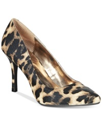 Rampage 143 Girl Owanda Pumps Women's Shoes Leopard