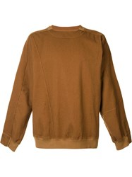 The Squad Loose Fit Long Sleeve Top Brown
