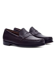 G.H. Bass And Co. Logan Grain Penny Loafer Burgundy