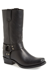 Sendra Boots Tall Harness Boot Men Black