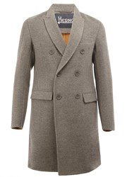 Herno Classic Double Breasted Coat Grey