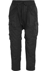 Nlst Satin Twill Track Pants Black