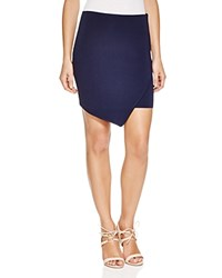 J.O.A. Knit Wrap Mini Skirt Compare At 65 Navy