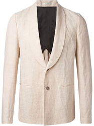 Paul Smith Wide Shawl Lapel Blazer Pink And Purple