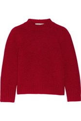 Marc Jacobs Wool And Cashmere Blend Sweater Red