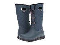 Bogs Juno Lace Tall Midnight Navy Women's Cold Weather Boots Blue