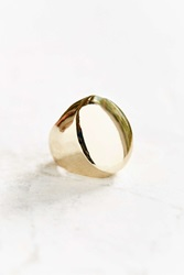 Urban Outfitters Exaggerated Statement Ring Gold