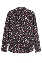 The Kooples Printed Silk Blouse Multicolor