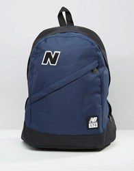 New Balance 574 Backpack In Blue Blue