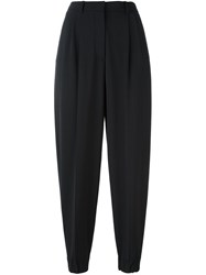 Antonio Marras High Waisted Cropped Trousers Black