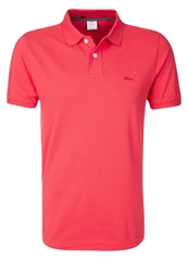 S.Oliver Polo Shirt Red