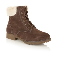 Lotus Vardy Lace Up Ankle Boots Brown