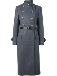 Philosophy Di Lorenzo Serafini Military Coat Grey