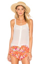 Spell And The Gypsy Collective Prairie Lace Top White