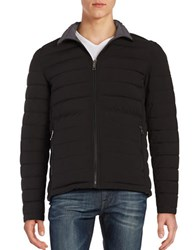 Nautica Reversible Quilted Puffer Jacket Black
