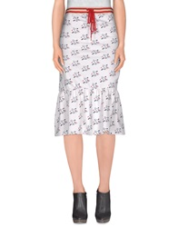 Juicy Couture 3 4 Length Skirts White
