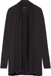 The Row Knightsbridge Jersey Cardigan Black