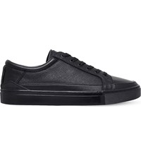 Kg By Kurt Geiger Phoenix Faux Leather Trainers Black