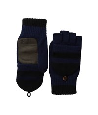Original Penguin Convertible Mittens Dark Sapphire Extreme Cold Weather Gloves Blue