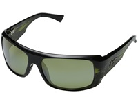 Maui Jim Five Caves Olive Stripe Maui Ht Fashion Sunglasses