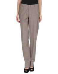 Alex Vidal Casual Pants Khaki