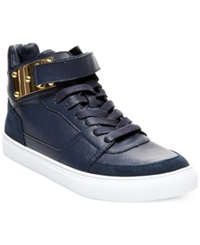 Madden Girl Madden Girl Adorree High Top Sneakers Women's Shoes Navy