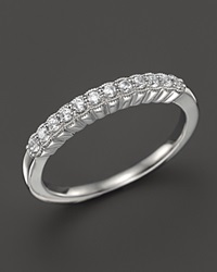 Bloomingdale's Diamond Band In 14K White Gold .25 Ct. T.W.
