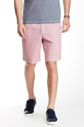Ben Sherman Geo Print Short Red