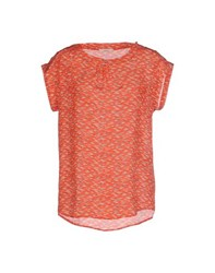 Sessun Shirts Blouses Women Red