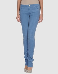 Manoush Casual Pants Pastel Blue