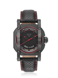 Visconti Up To Date Sport Watch Black Red