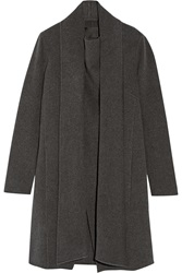 Donna Karan Draped Cashmere Coat