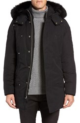 Moose Knuckles Men's 'Stirling' Water Repellent Down Parka With Genuine Fox Fur Trim