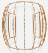 Maison Dauphin Cuff Collection I Rose Gold