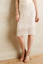 Maeve Delphina Crochet Pencil Skirt
